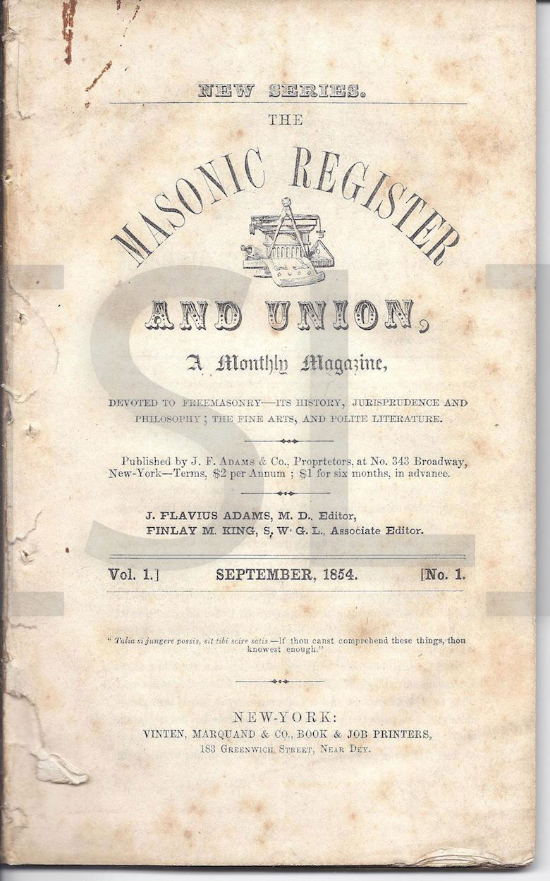Masonic Register and Union