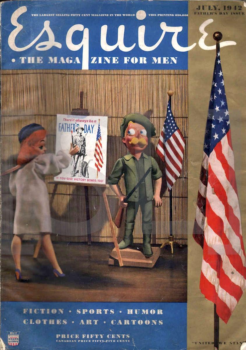Esquire. The Magazine for Men