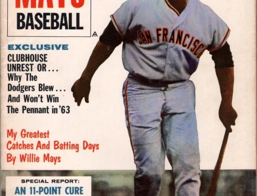 Willie Mays Baseball