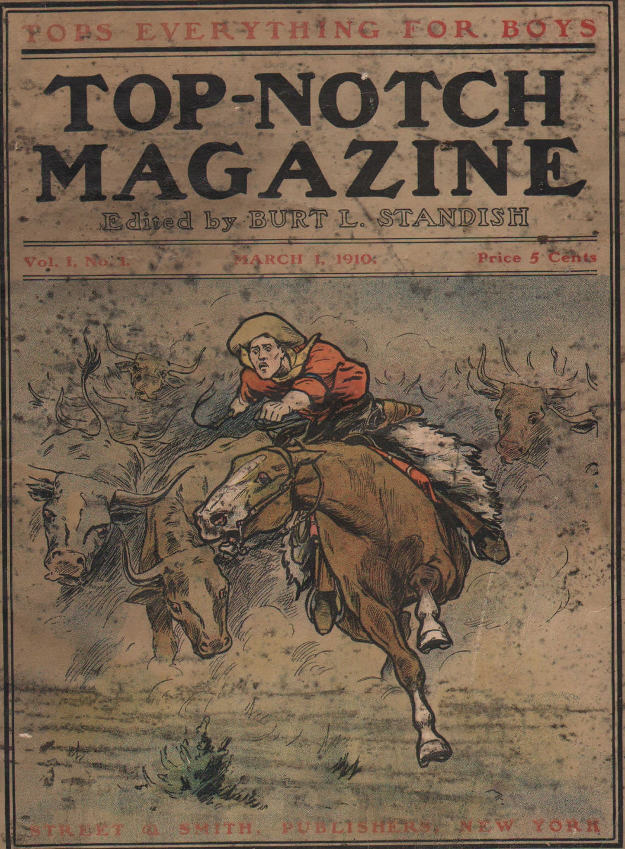 Top-Notch Magazine - April 15, 1924 - Pulp Magazine