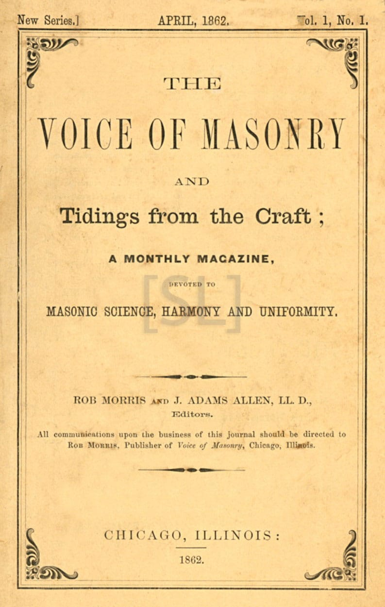 Voice of Masonry and Tidings From The Craft