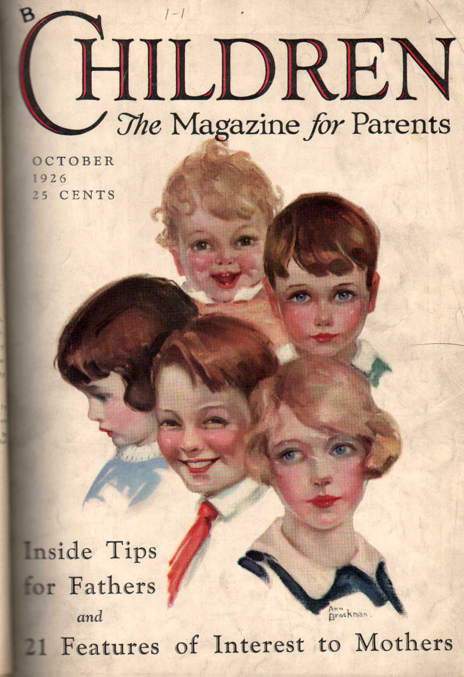 Children. The Magazine for Parents