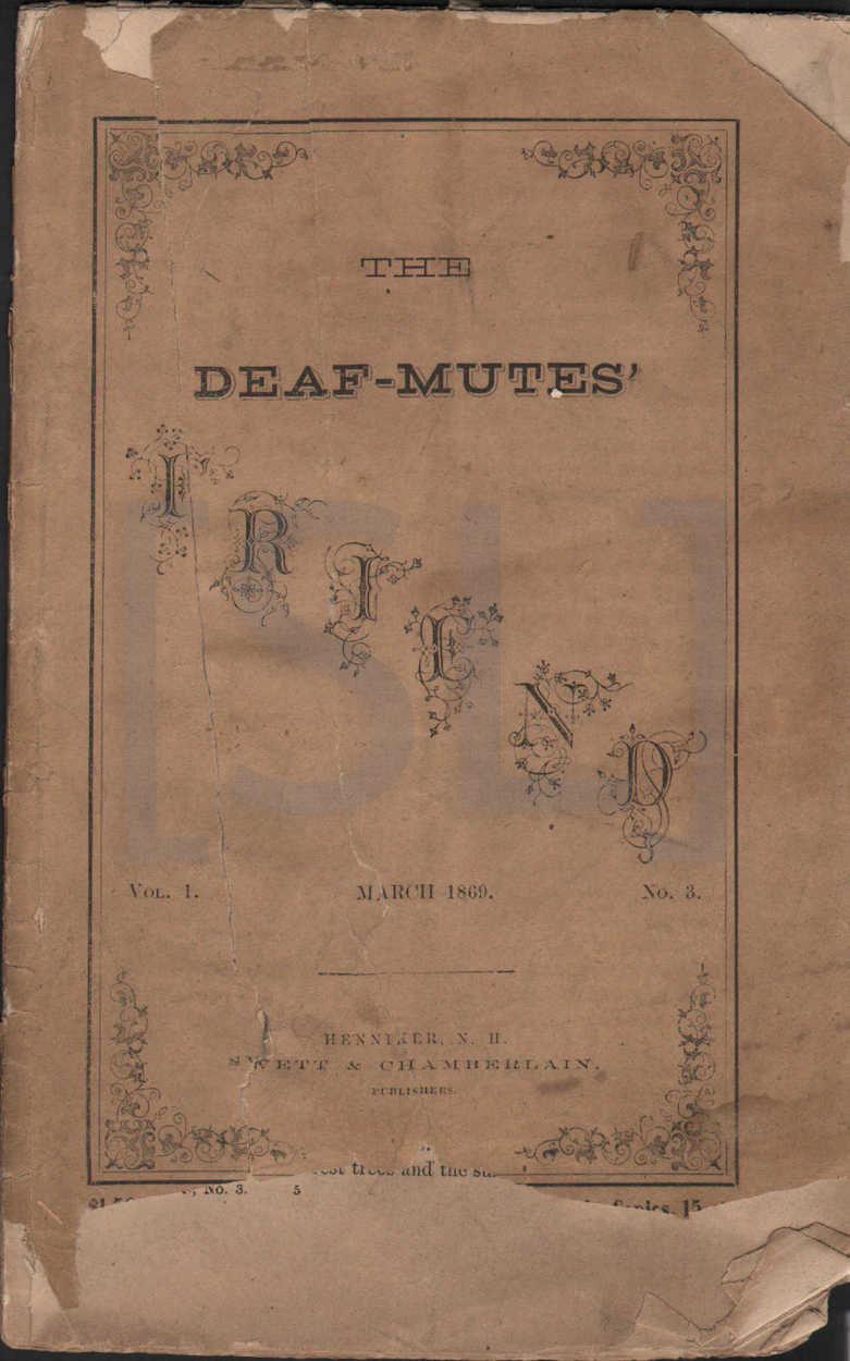 Deaf-Mute's Friend