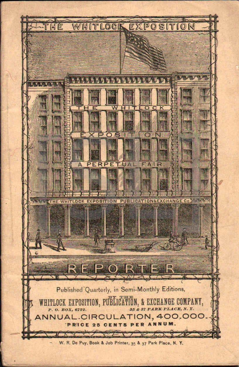 Whitlock Exposition Quarterly Reporter