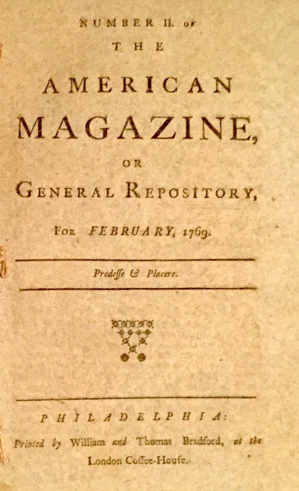 American Magazine, or General Repository