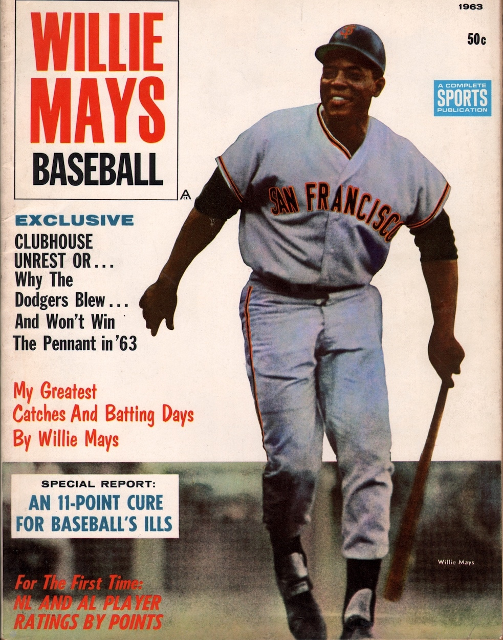 Willie Mays Baseball