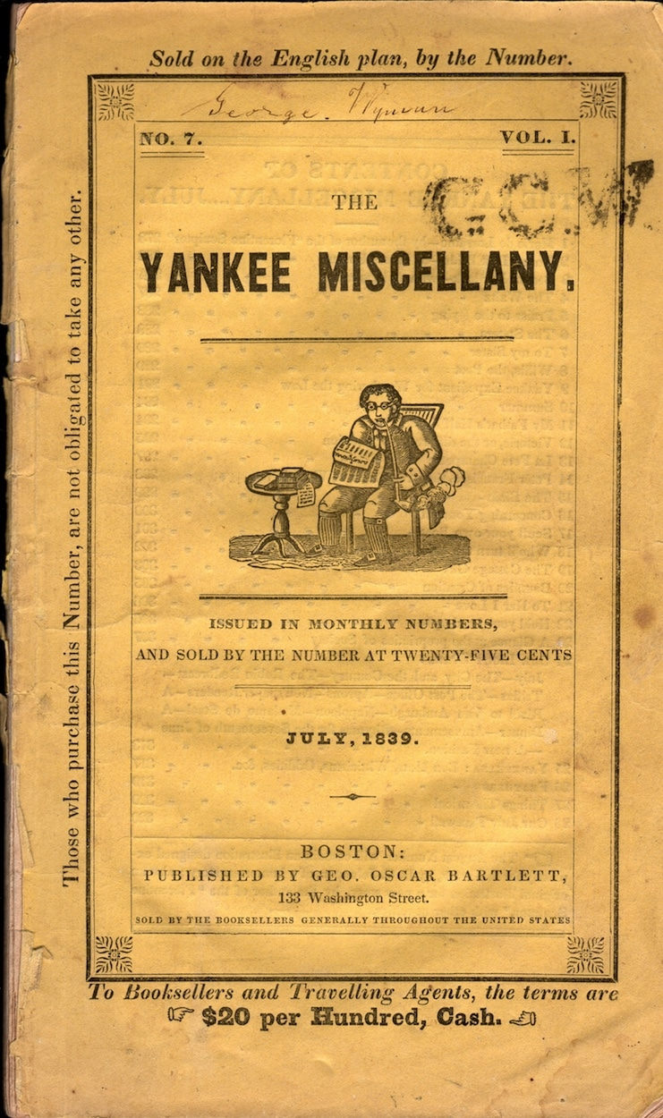 Yankee Miscellany