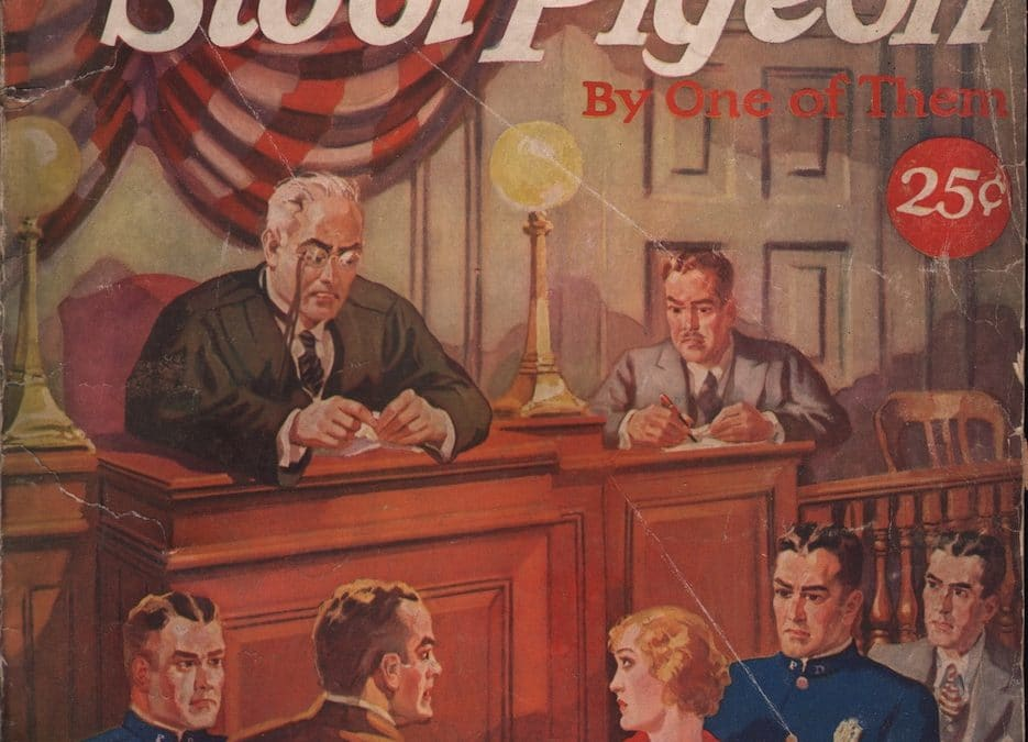 Confessions of a Stool Pigeon