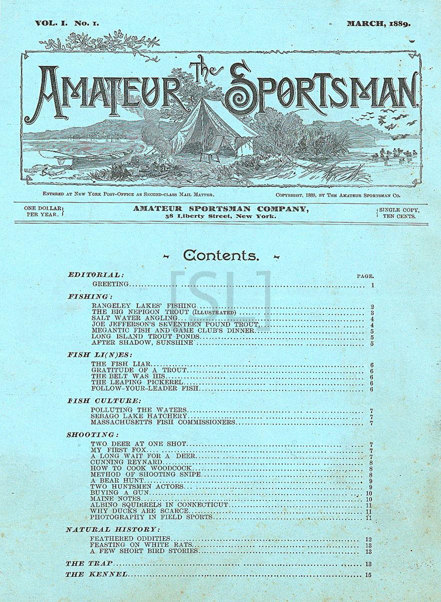 Amateur Sportsman