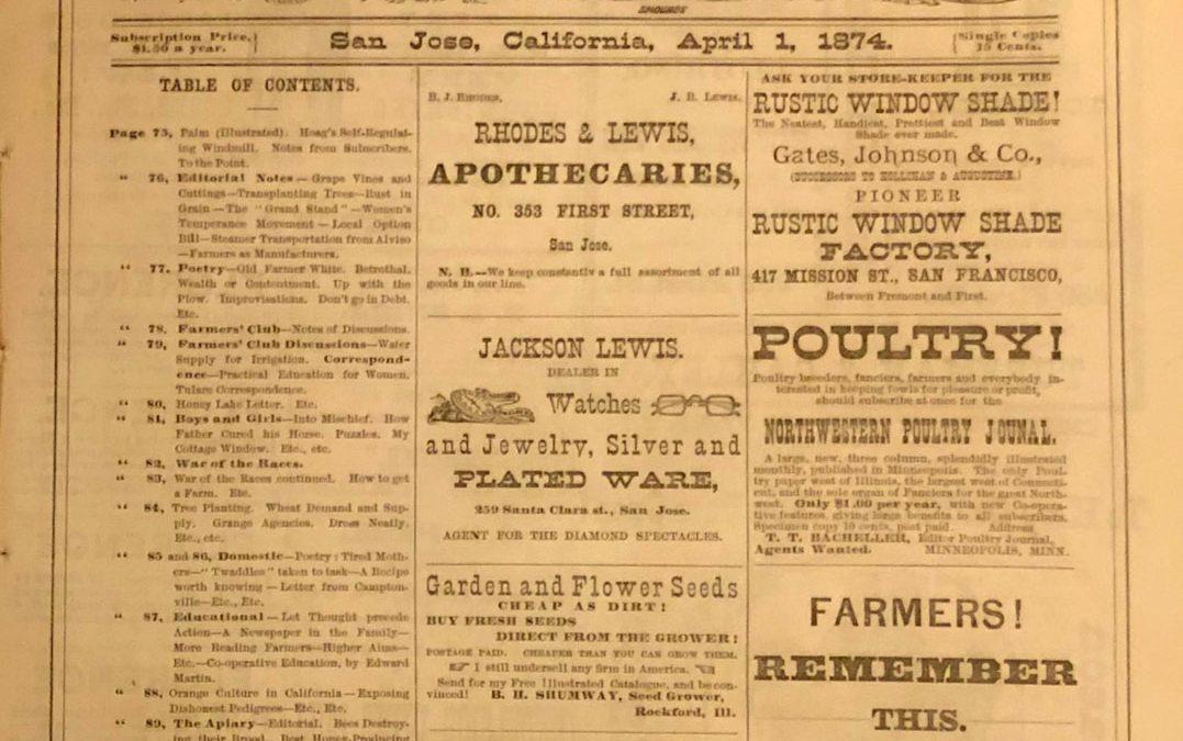 California Agriculturalist