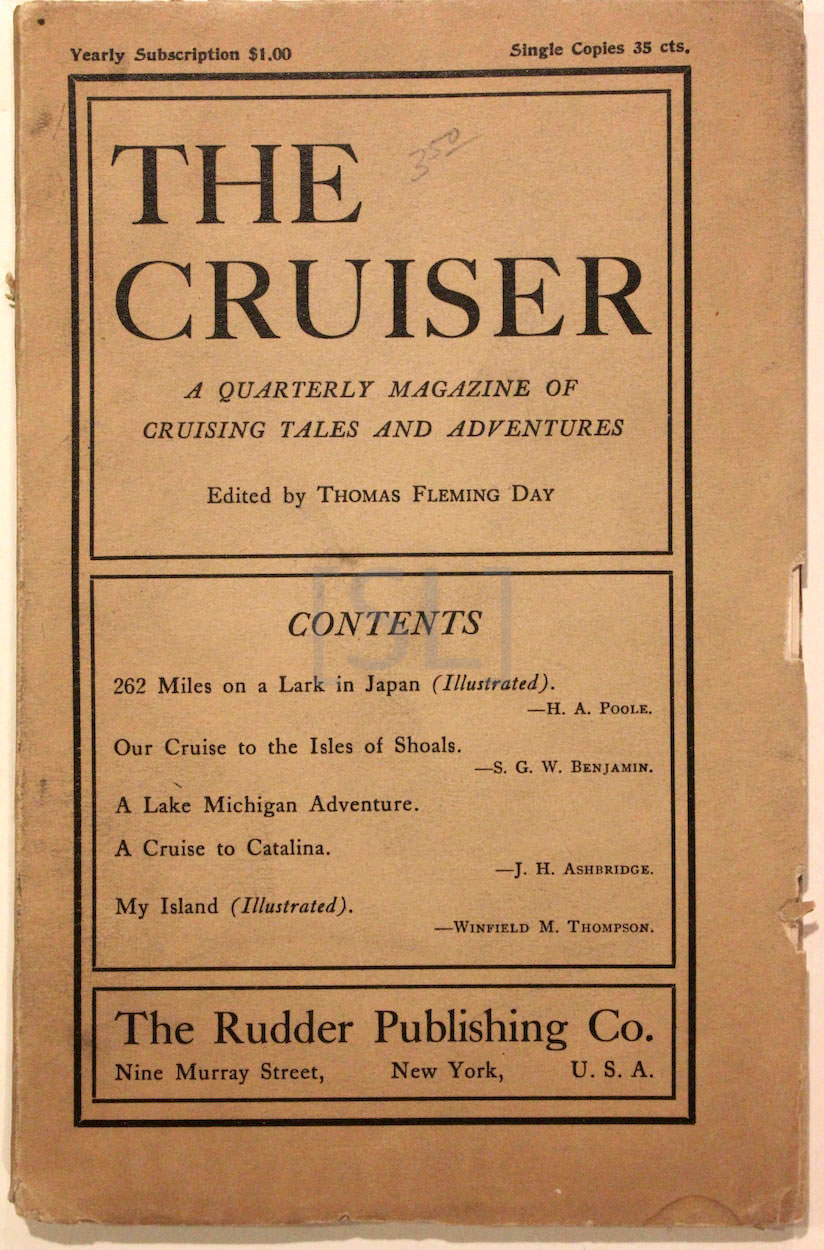 Cruiser, A Quartlerly Magazine of Cruising Tales and Adventures