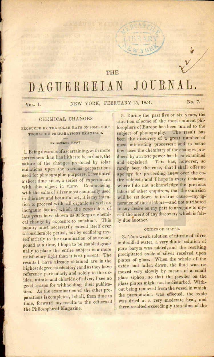 Daguerreian Journal