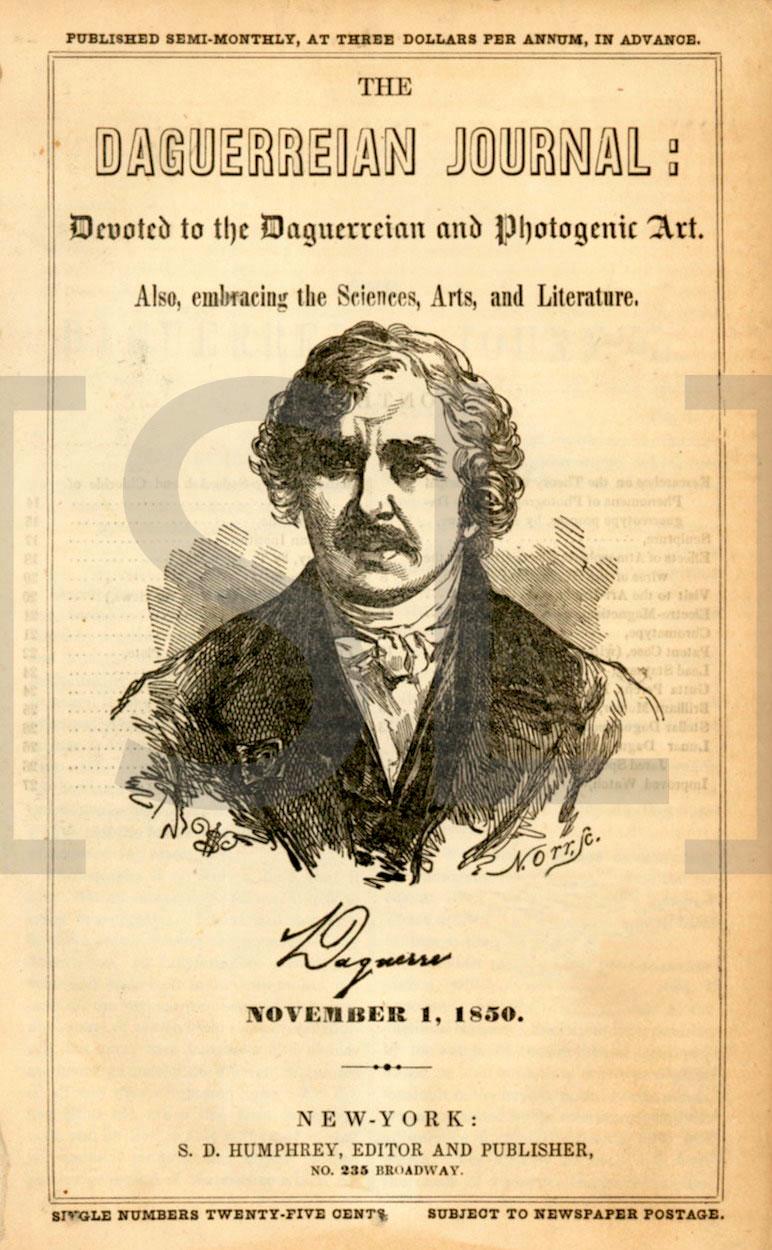 Daguerreian Journal: Devoted to the Daguerreian and Photogenic Art