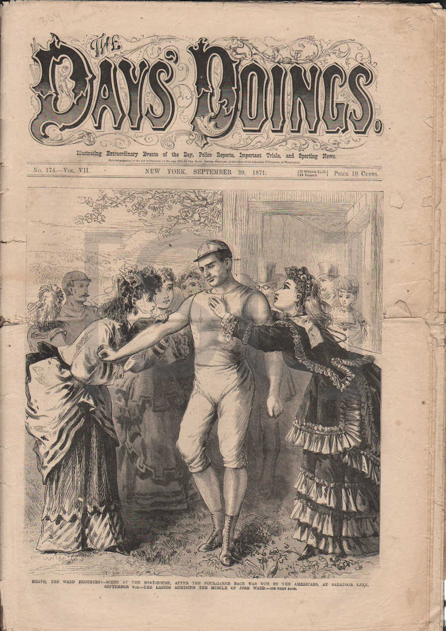 Days' Doings; Illustrated Extraordinary Events of the Day, Police Reports, Important Trials, and Sporting News