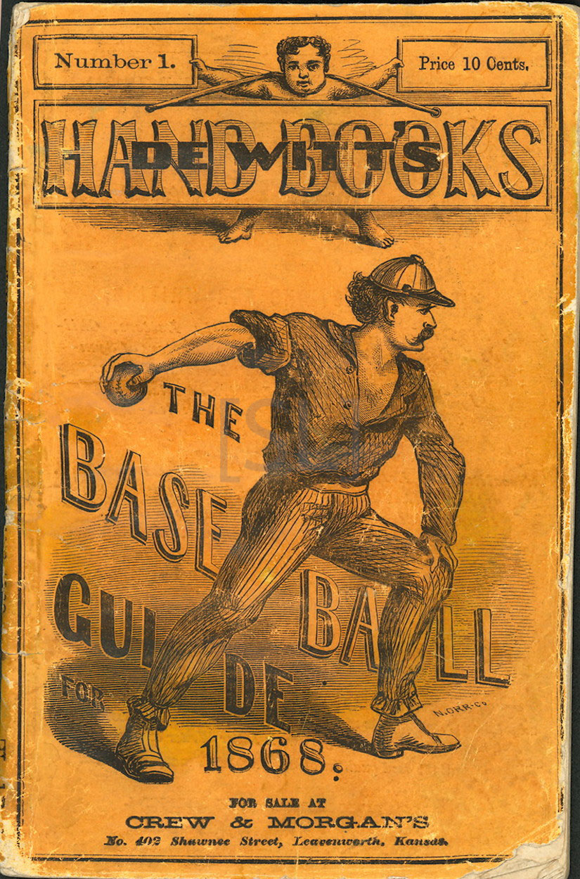 De Witt's Hand Books, the Base-ball Guide for 1868