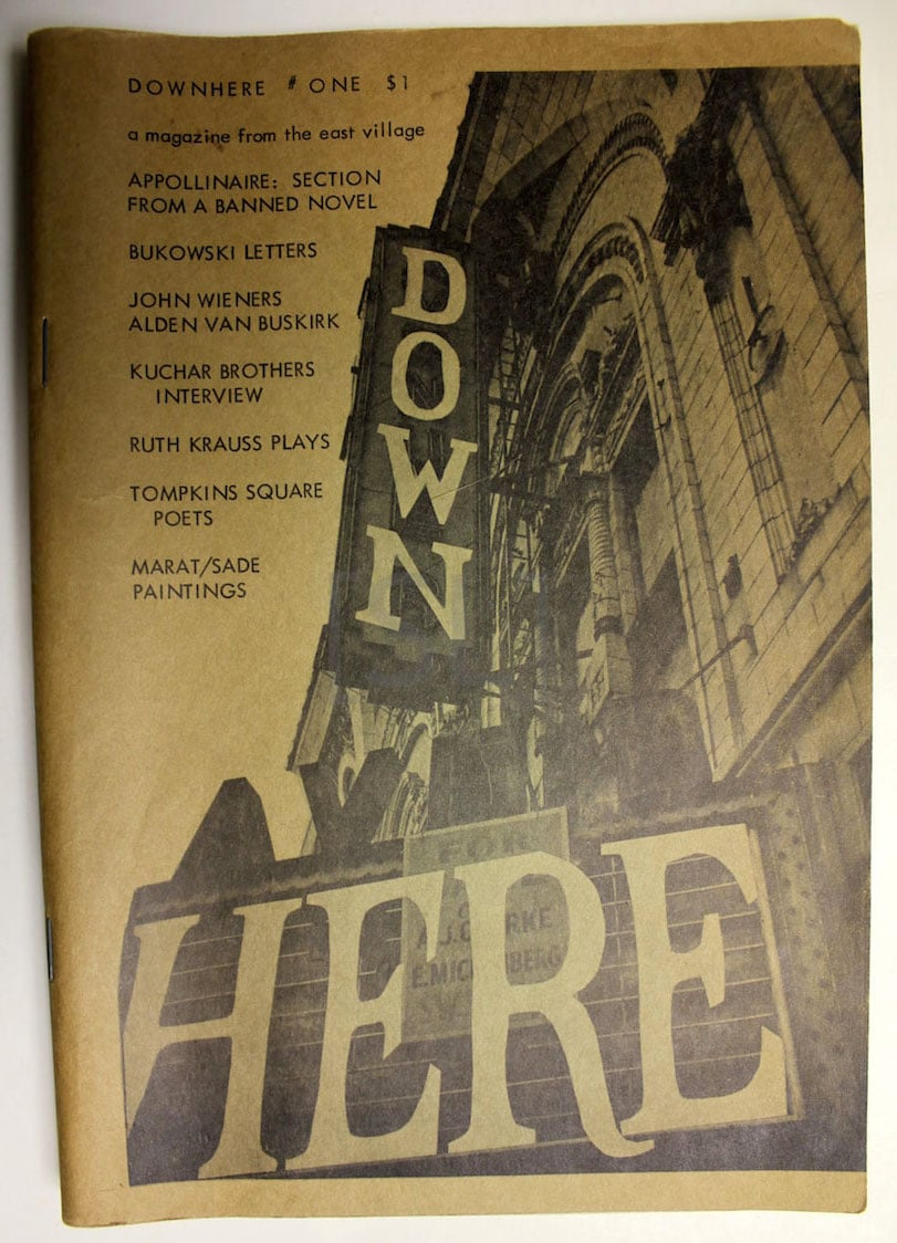 Down Here. A Magazine From the East Village