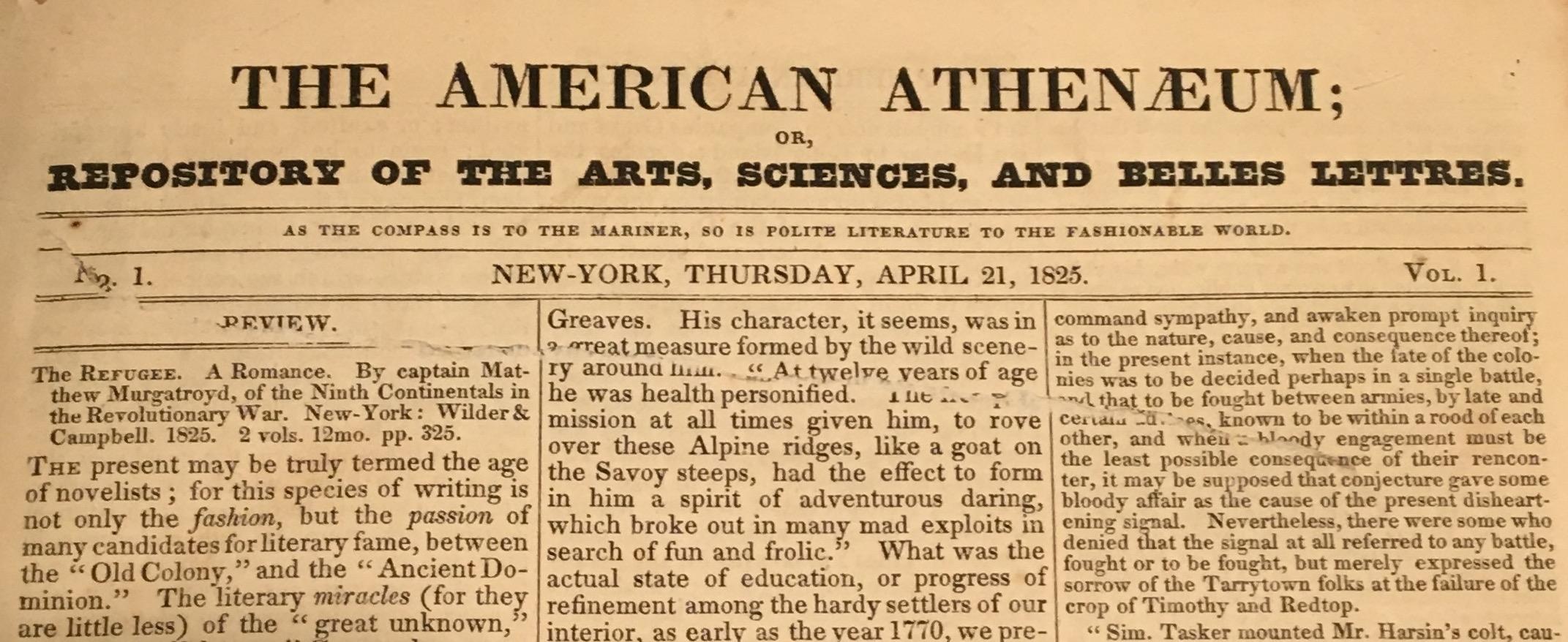 American Athenaeum
