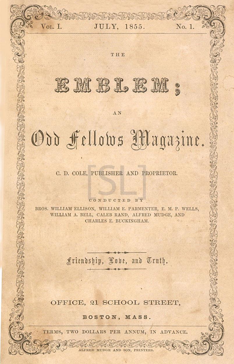 Emblem; An Odd Fellows Magazine