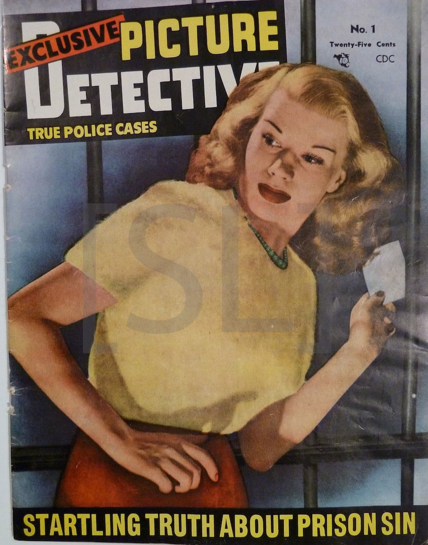 Exclusive Picture Detective; True Police Cases