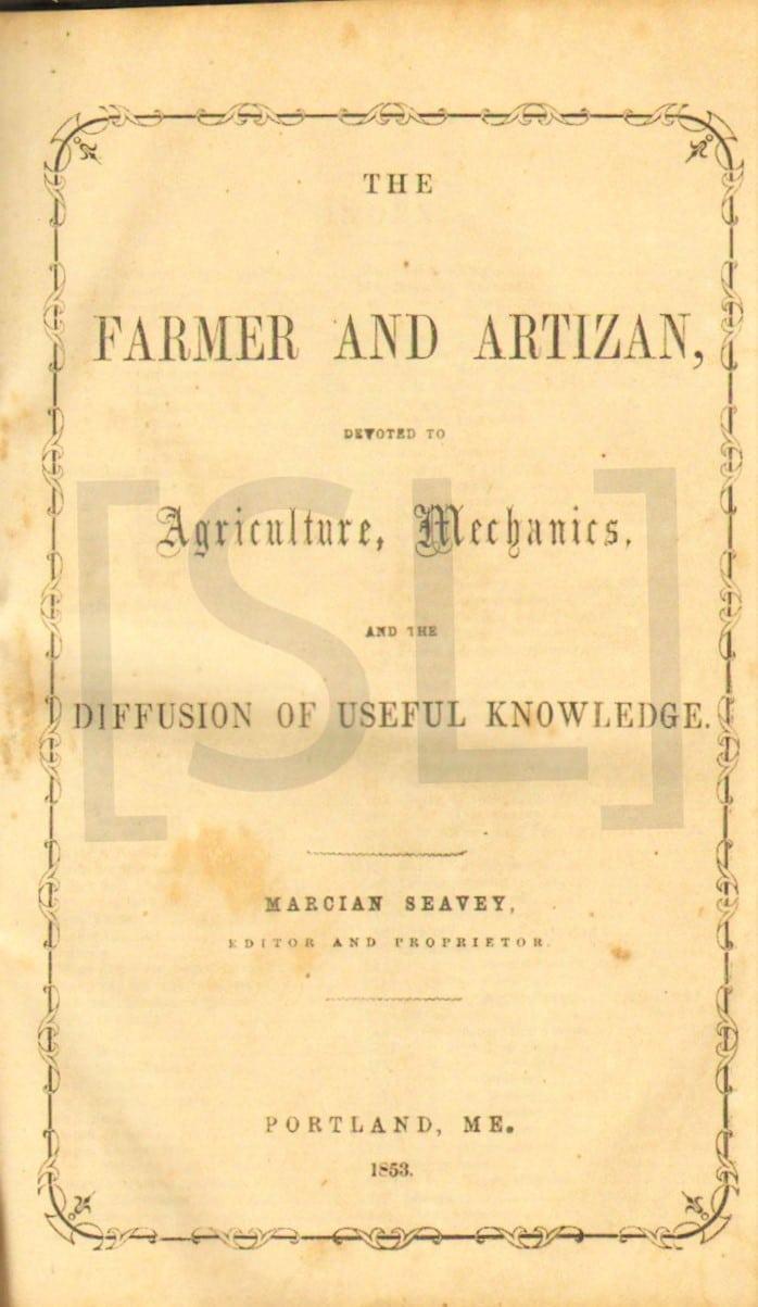 Farmer and Artizan