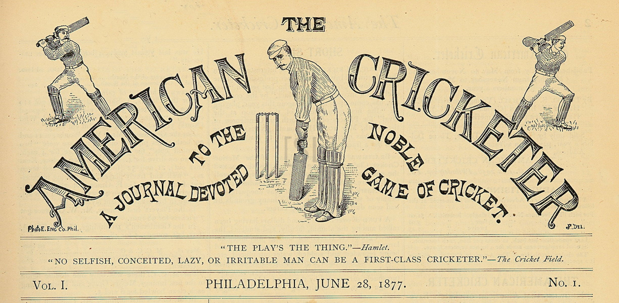American Cricketer