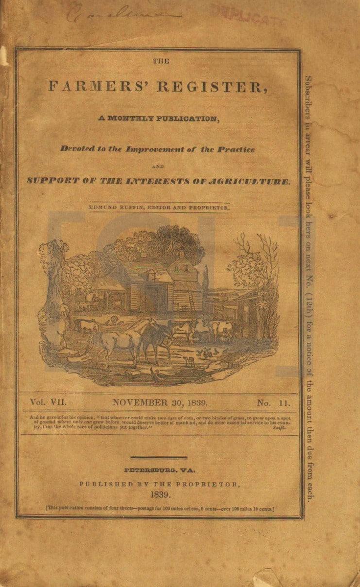 Farmer's Register