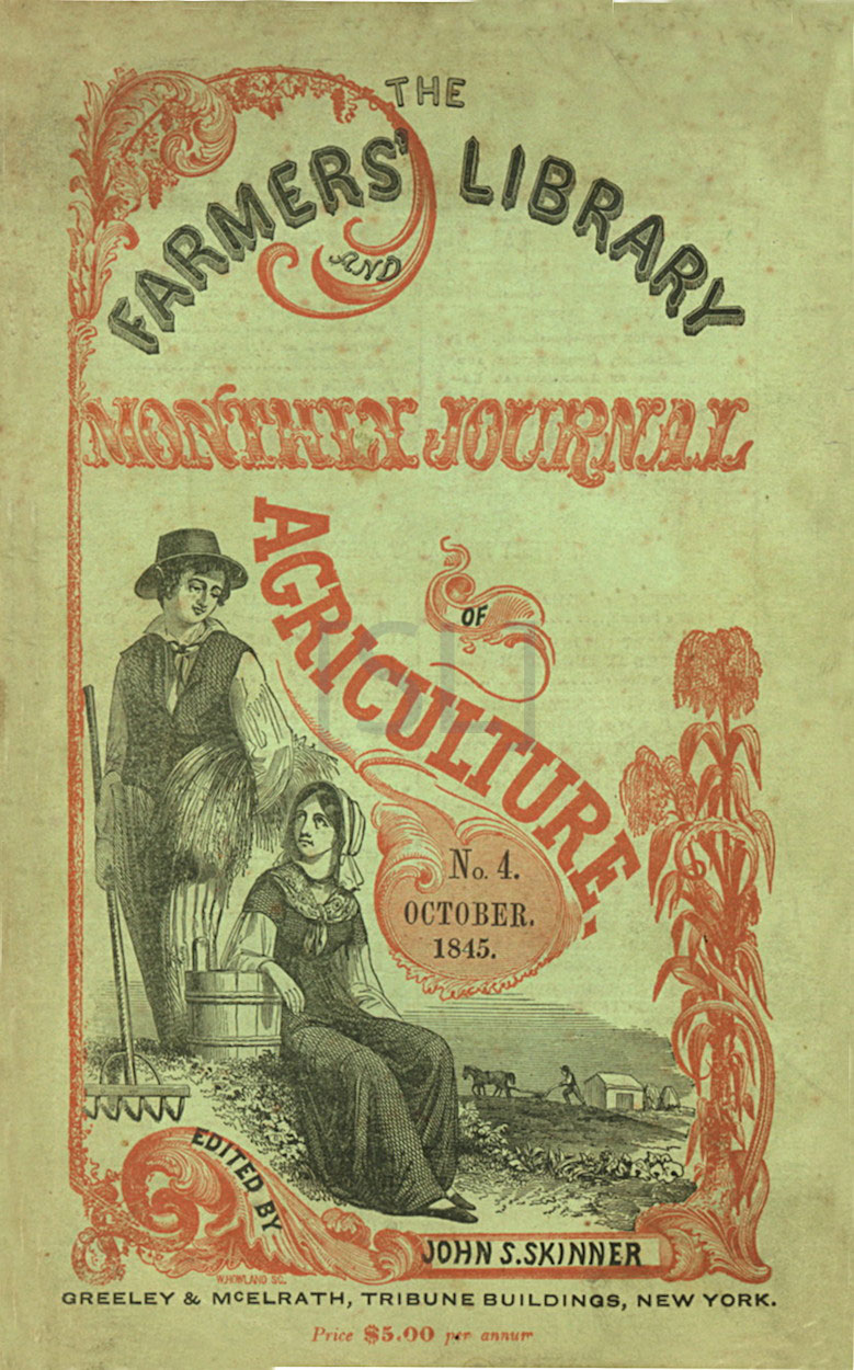 Farmer's Library and Monthly Journal of Agriculture