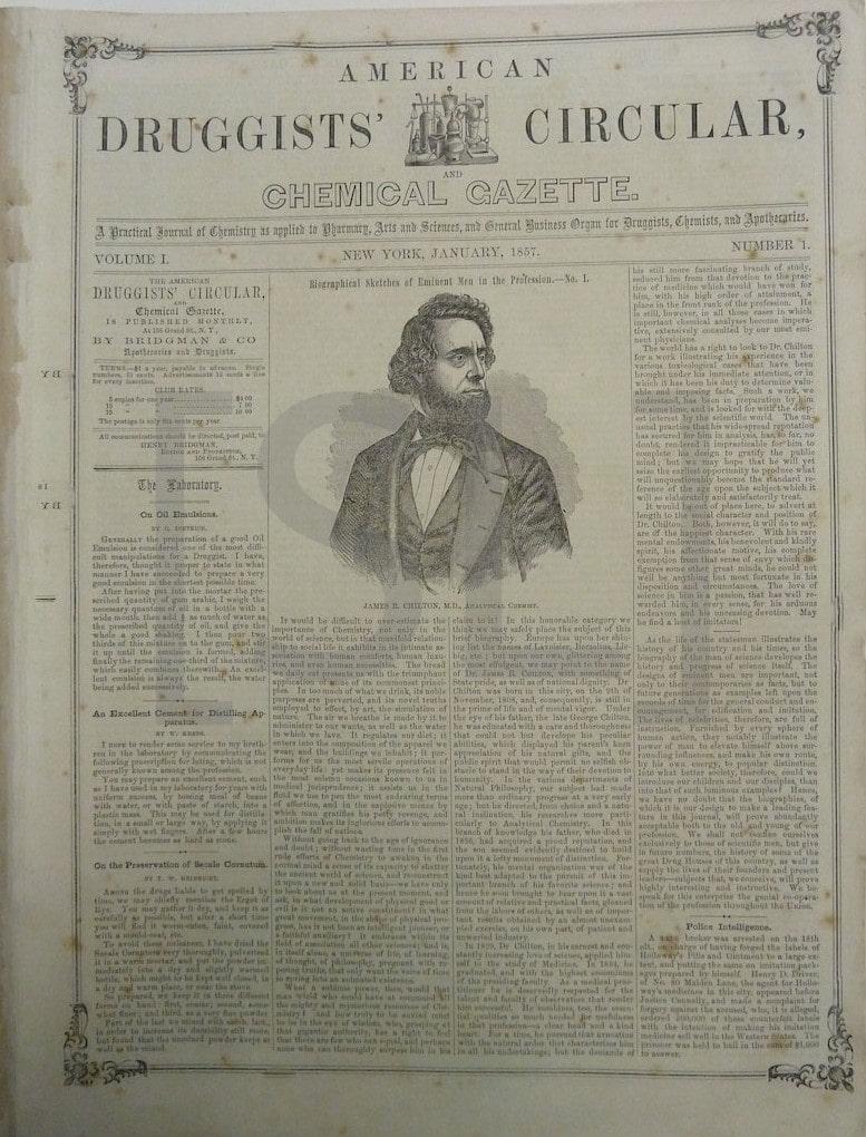 American Druggist Circular and Chemical Gazette