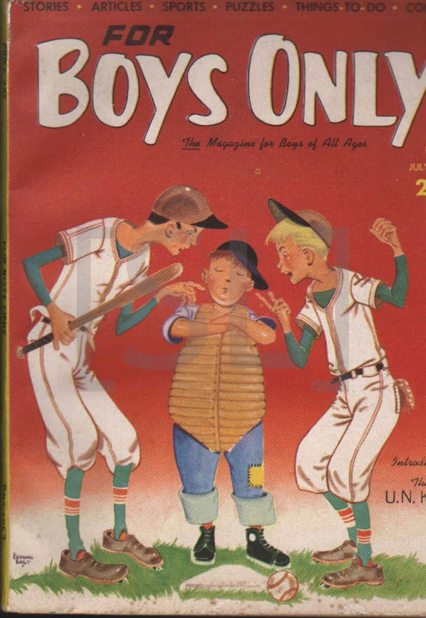For Boys Only; The Magazine for Boys of All Ages