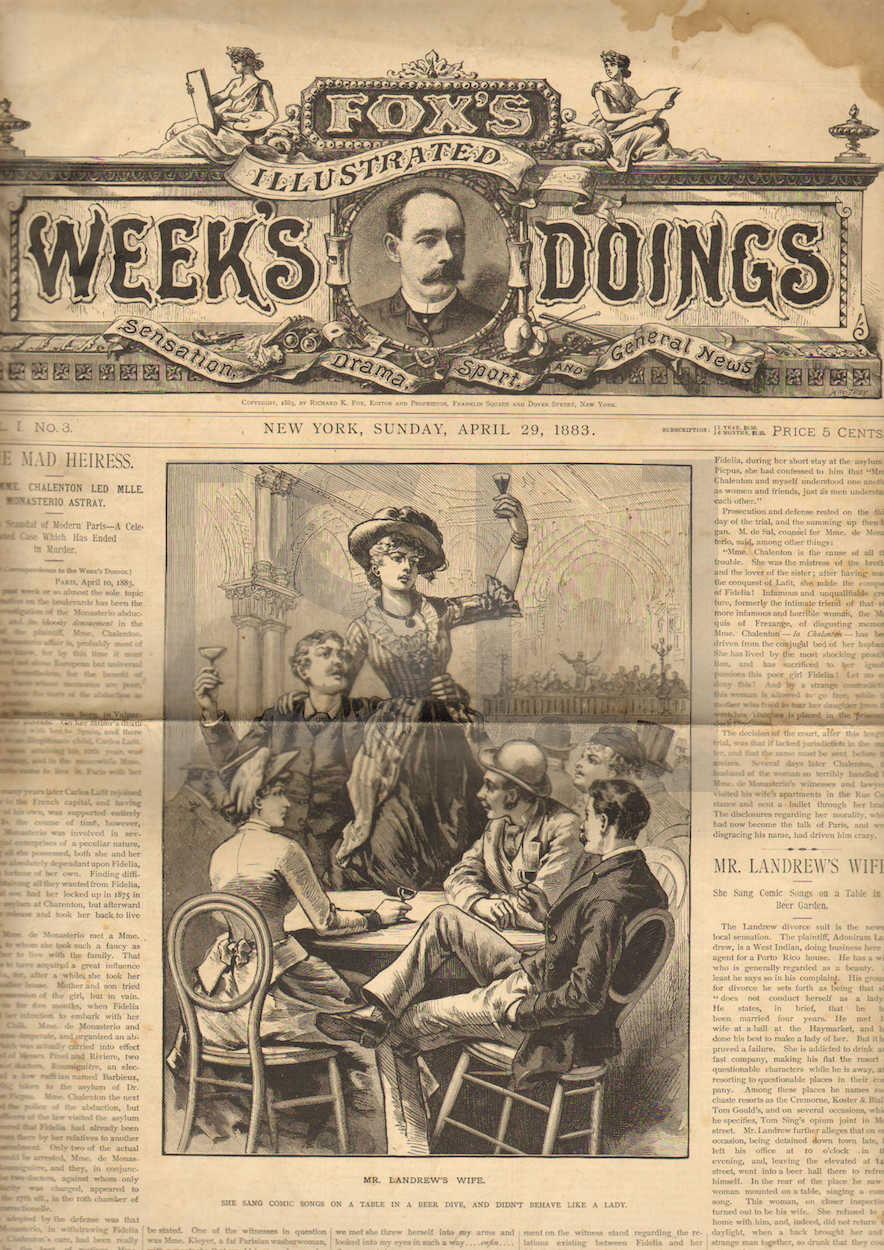 Fox's Illustrated Week's Doings