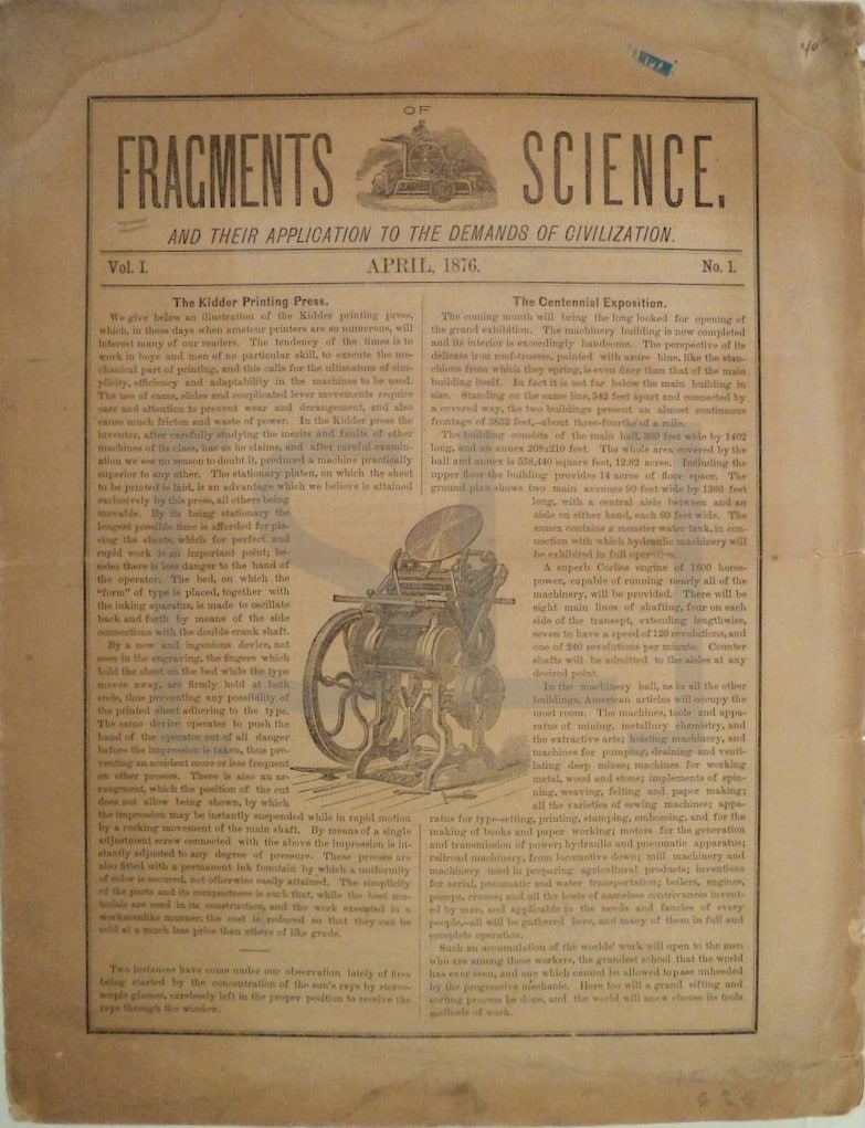 Fragments of Science