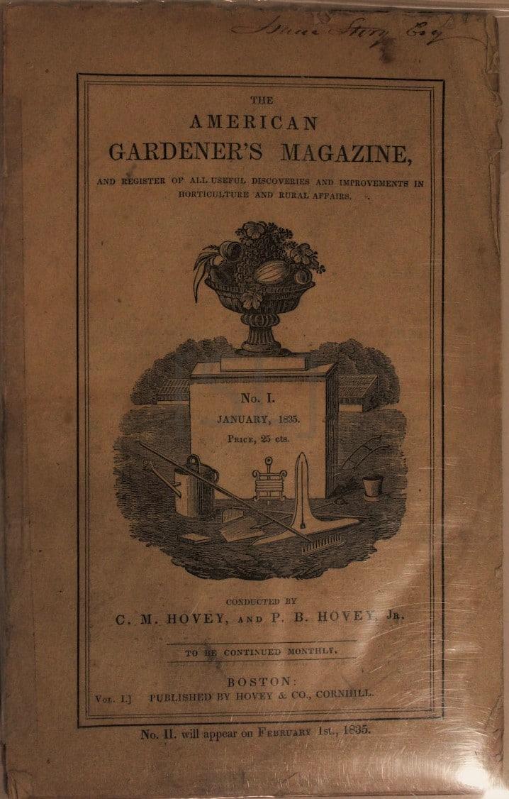 American Gardener's Magazine