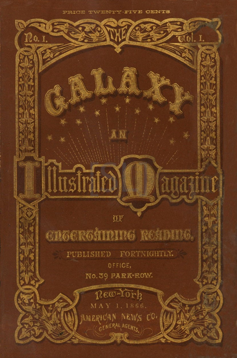 Galaxy, an Illustrated Magazine of Entertaining Reading