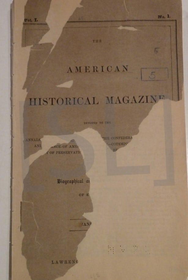 American Historical Magazine