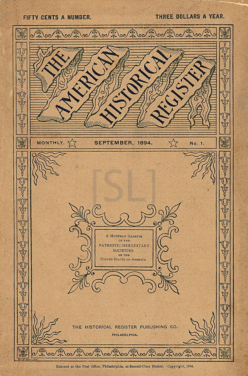 American Historical Register