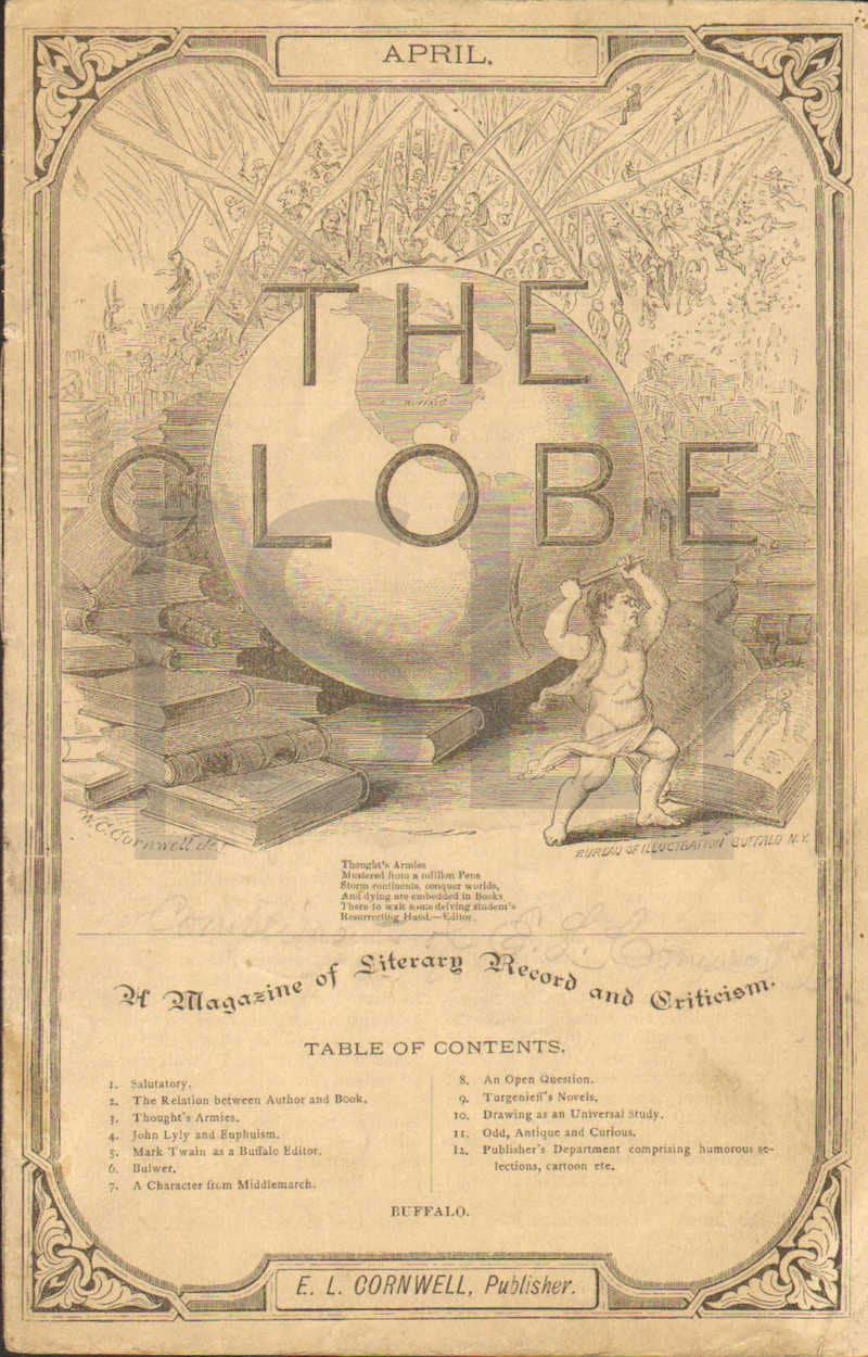 Globe, A Magazine of Literary Record and Criticism