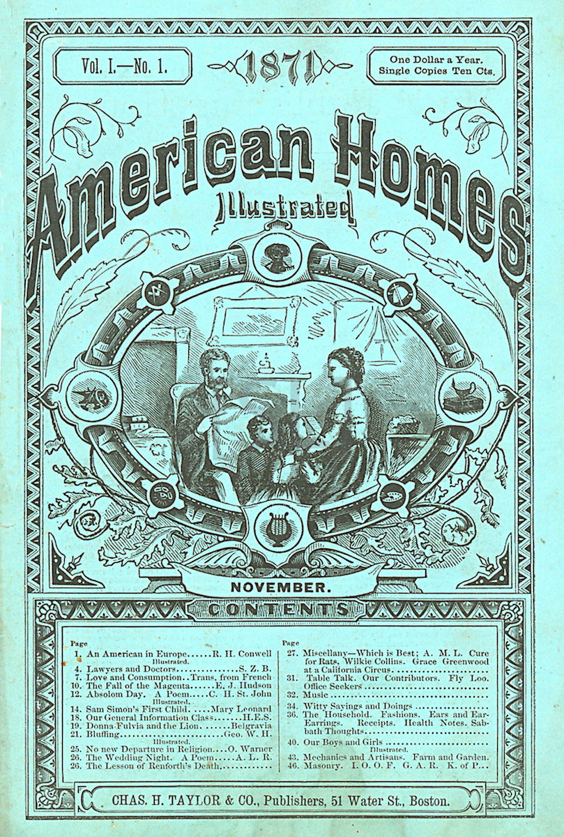 American Homes Illustrated
