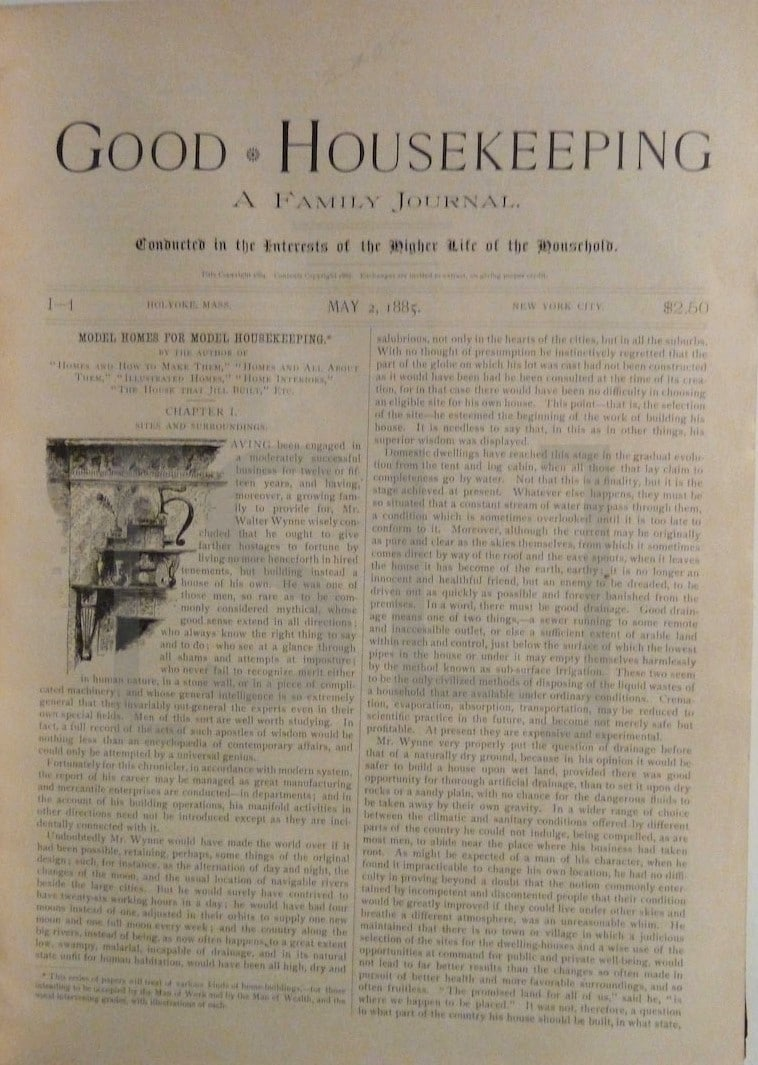 Good Housekeeping, A Family Journal