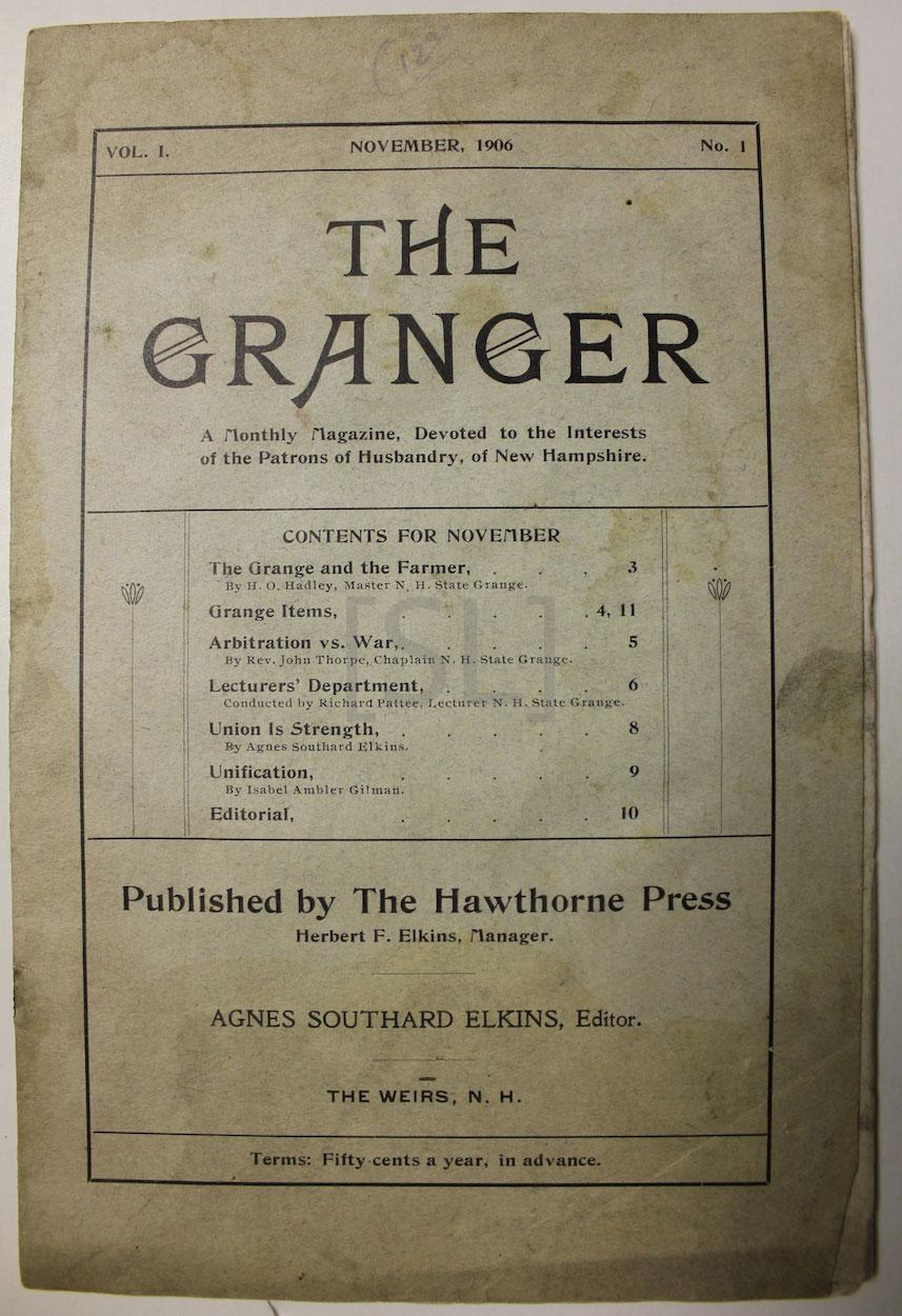 Granger; A Monthly Magazine