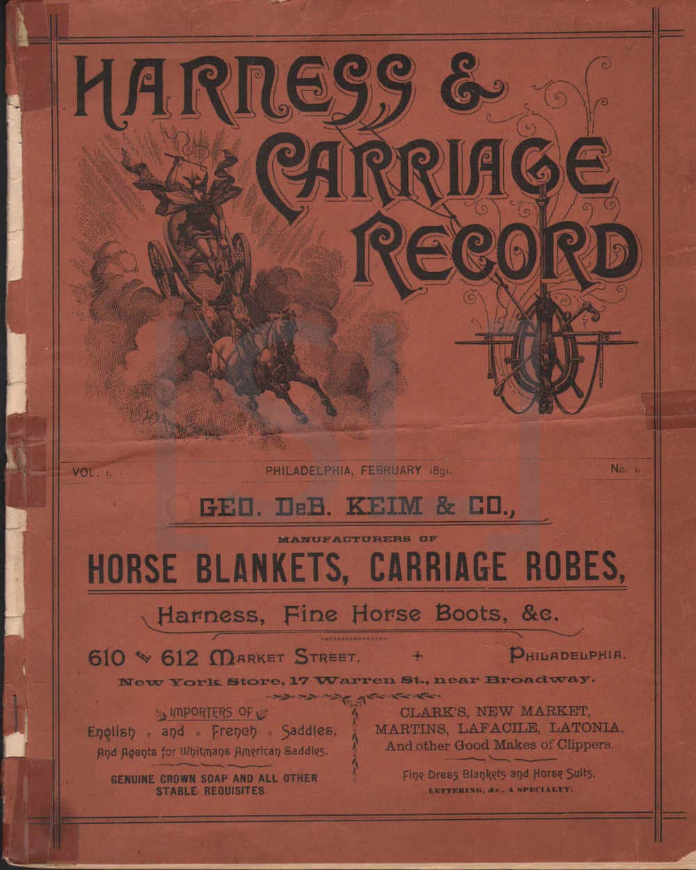Harness & Carriage Record