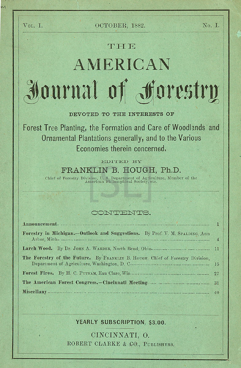 American Journal of Forestry