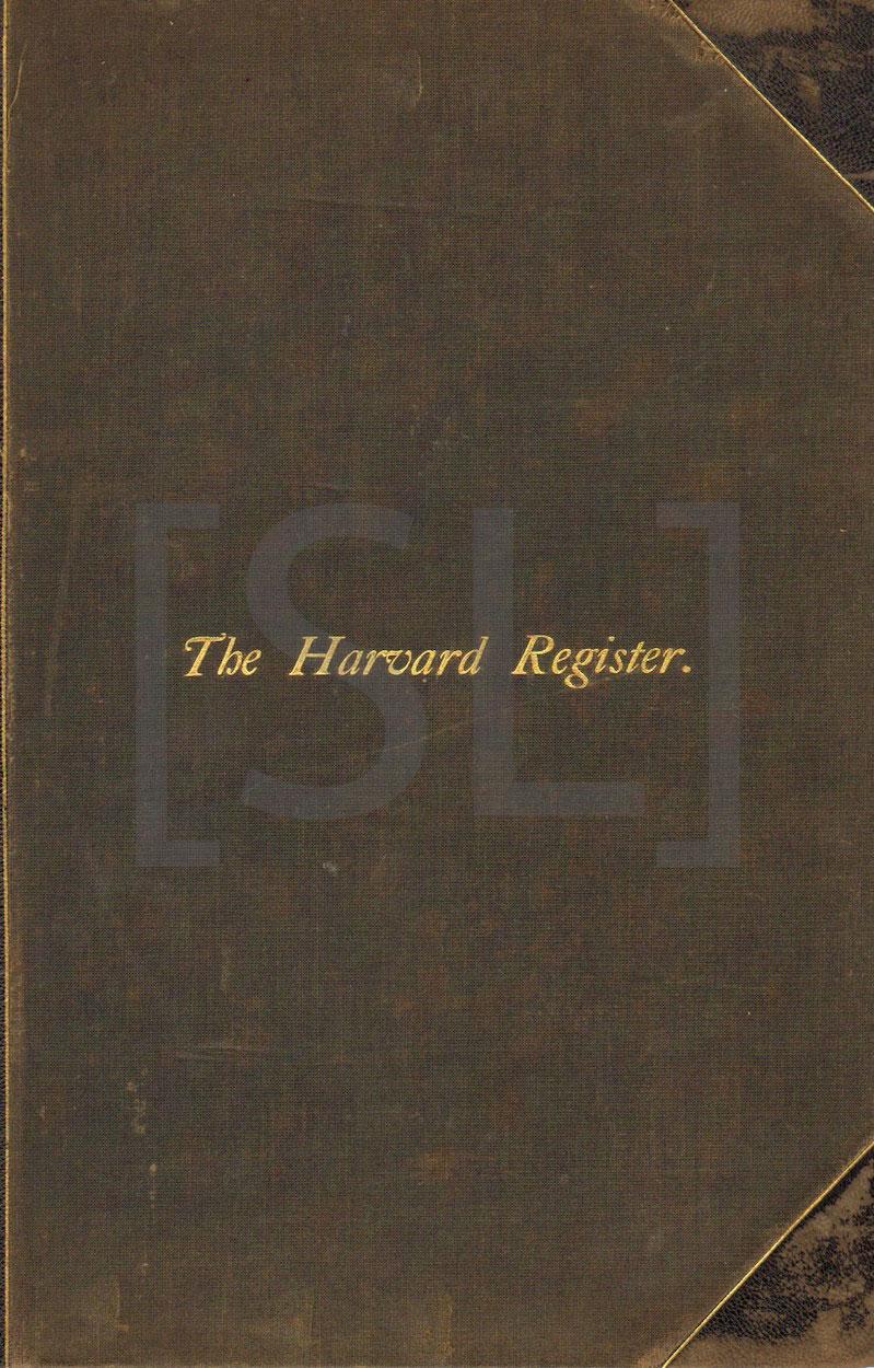 Harvard Register