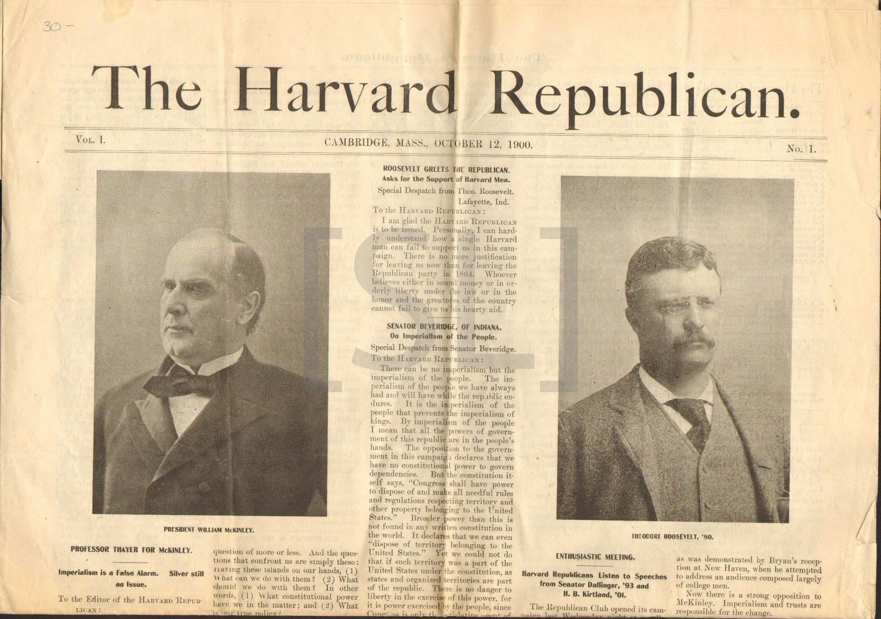 Harvard Republican