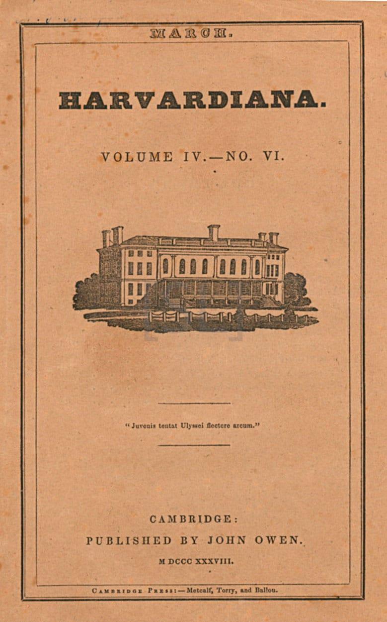 Harvardiana, A Literary Journal