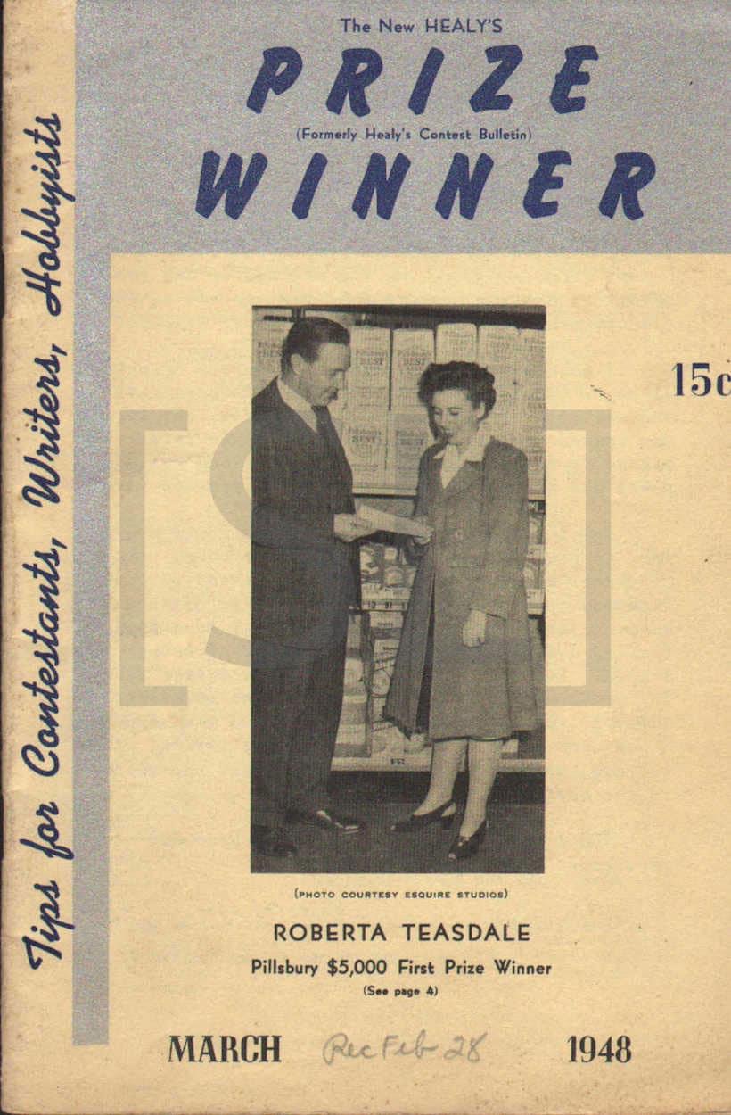 Healy's Prize Winner