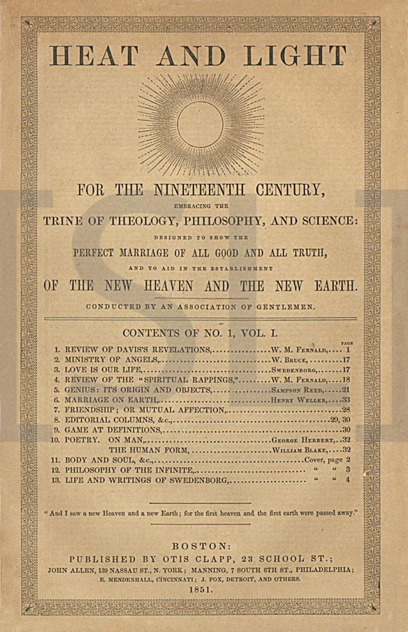 Heat and Light; for the Nineteenth Century