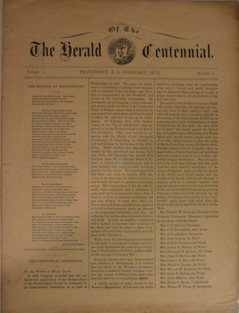 Herald Of The Centennial