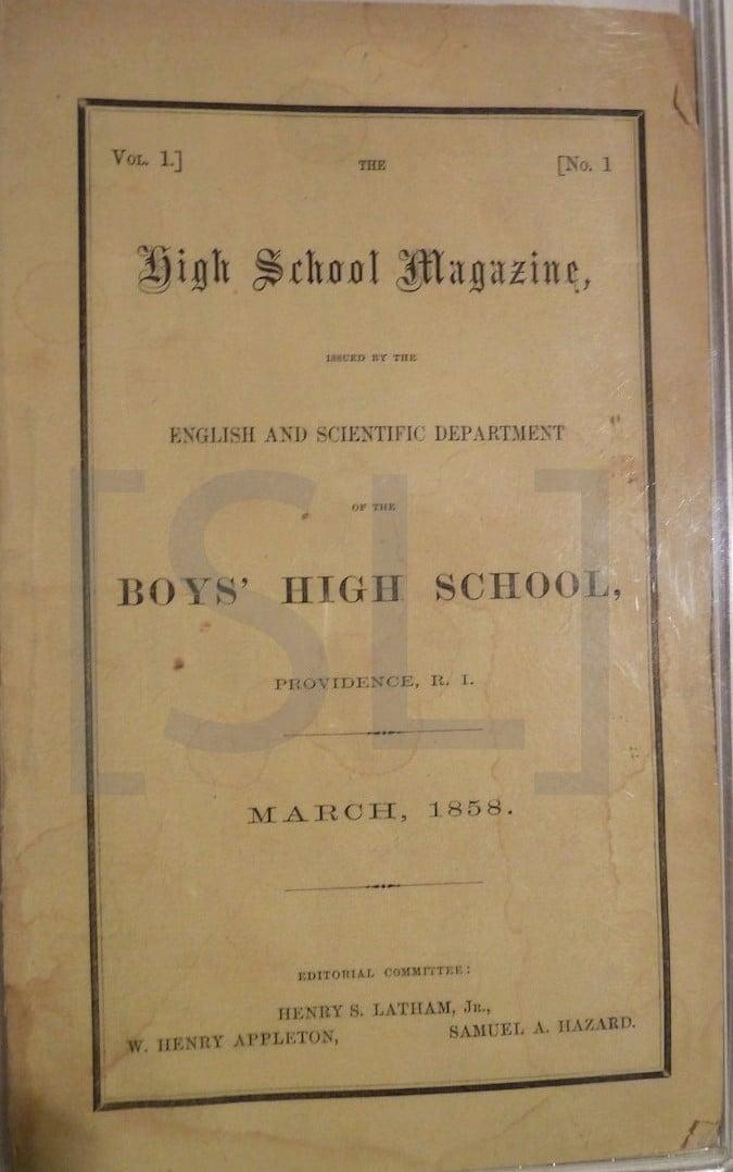 High School Magazine