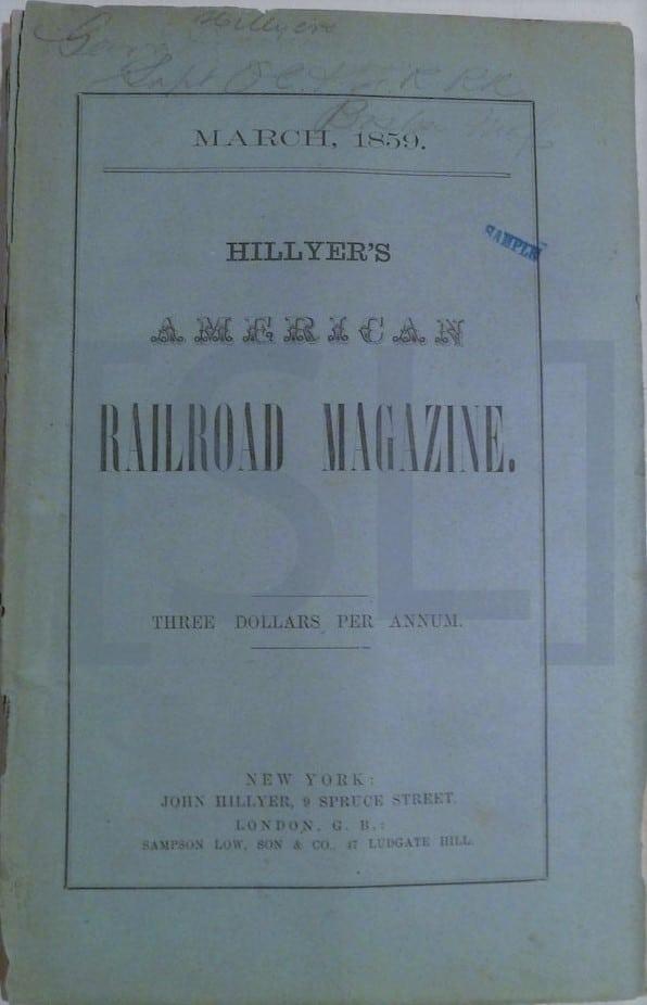 Hillyer's American Railroad Magazine