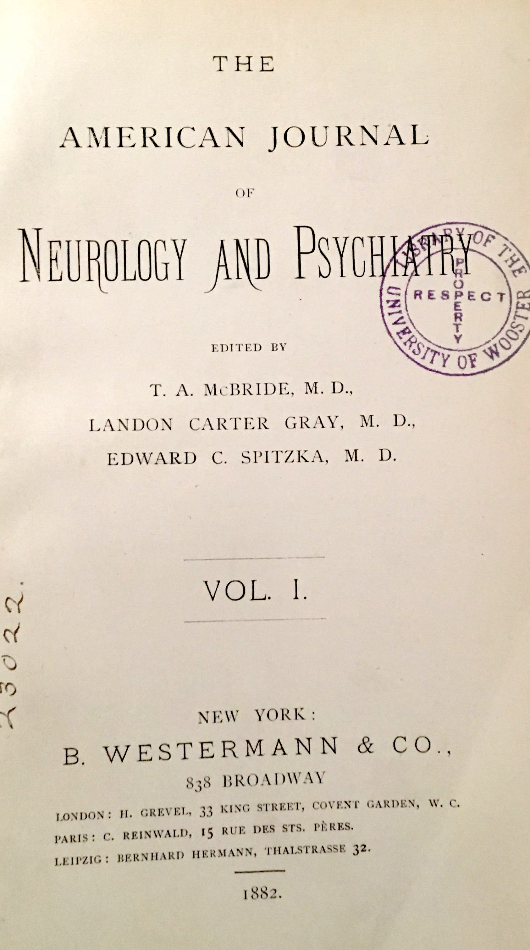 American Journal of Neurology and Psychiatry